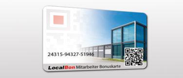 Mitarbeiter Bonuskarte